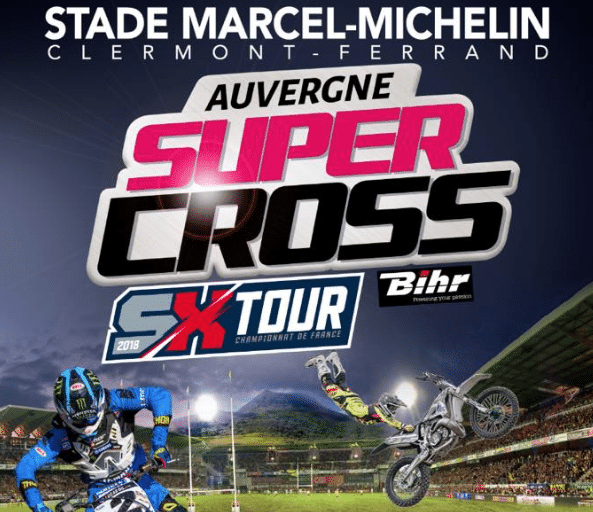 super cross auvergne au michelin privilodges clermont ferrand. Black Bedroom Furniture Sets. Home Design Ideas