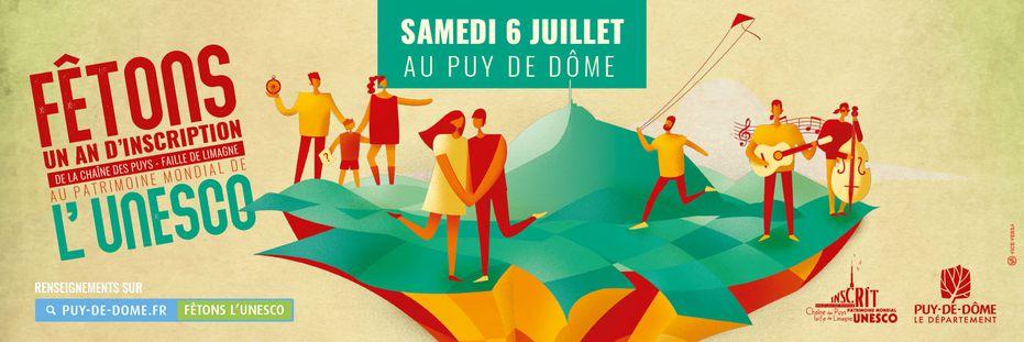 Chaîne des Puys – faille de Limagne : un an à l'UNESCO !